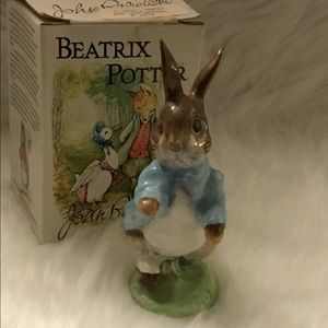 "Beatrix Potter Beswick England "" Peter Rabbit """